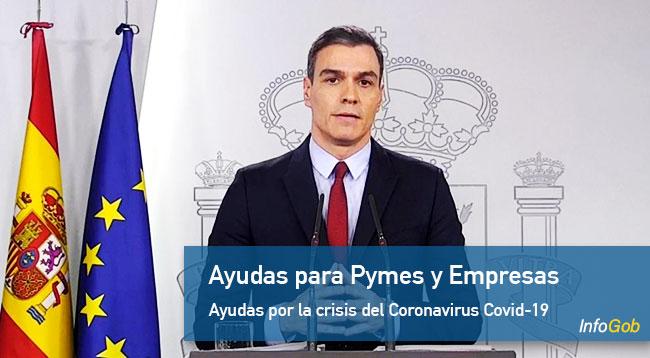 Ayudas del Gobierno a Pymes y Empresas por la crisis del Coronavirus Covid-19