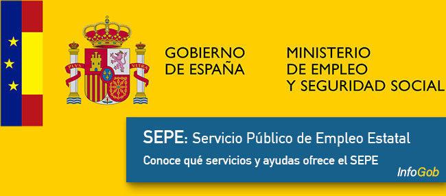 El SEPE: Servicio Público de Empleo Estatal
