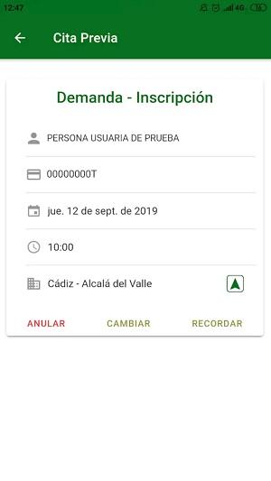 Cita INEM Andaluz