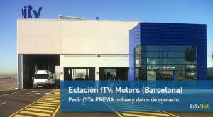 Cita ITV calle Motors, Barcelona