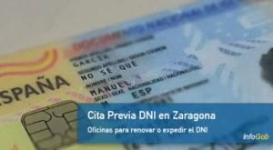 Cita Previa DNI en Zaragoza provincia