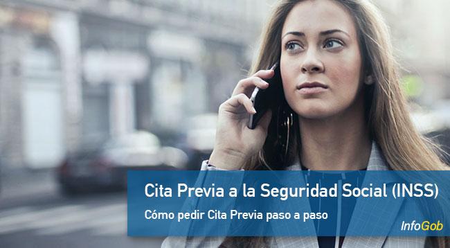 Cita Previa a la Seguridad Social