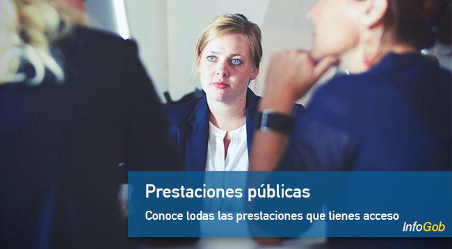 Prestaciones públicas
