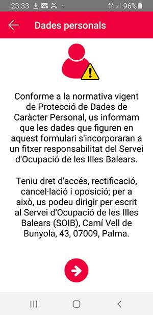 SOIB: para en las Baleares