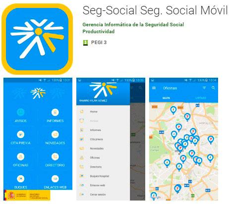 Aplicación Seguridad Social