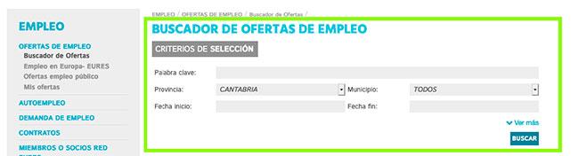 Buscador empleo de EMCAN