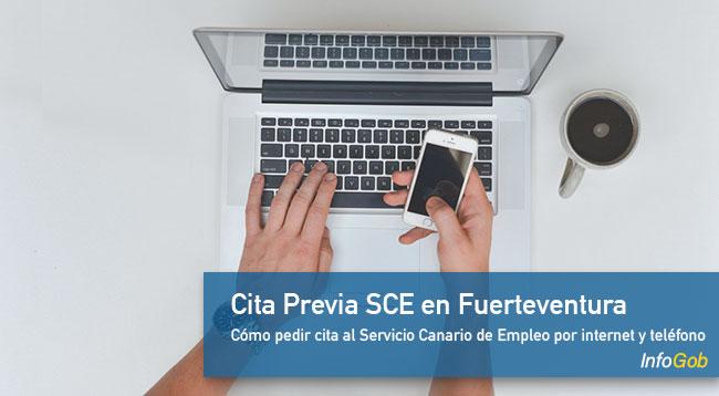 Cita SCE en Fuerteventura