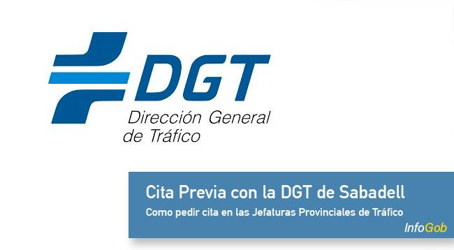 Cita en la DGT de Sabadell