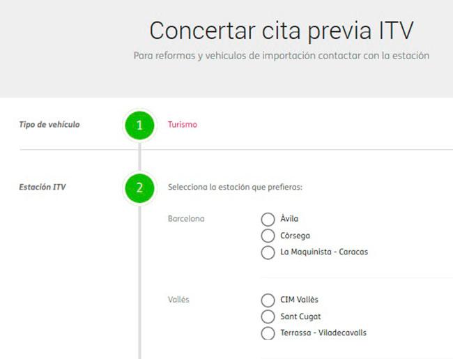 Estaciones ITV Certio