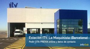 Cita ITV en La Maquinista