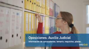 Oposiciones: Auxilio Judicial