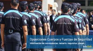 Oposiciones en Cuerpos y fuerzas de Seguridad