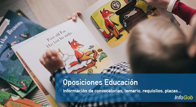 Oposiciones Educación