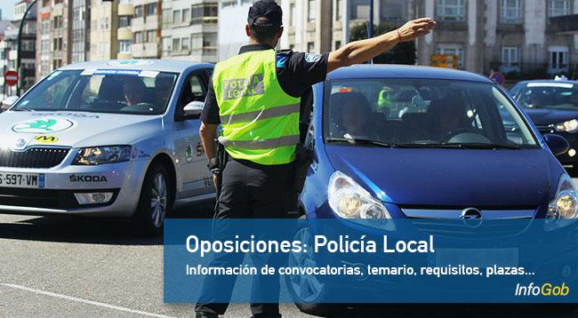 Oposiciones: Policía Local