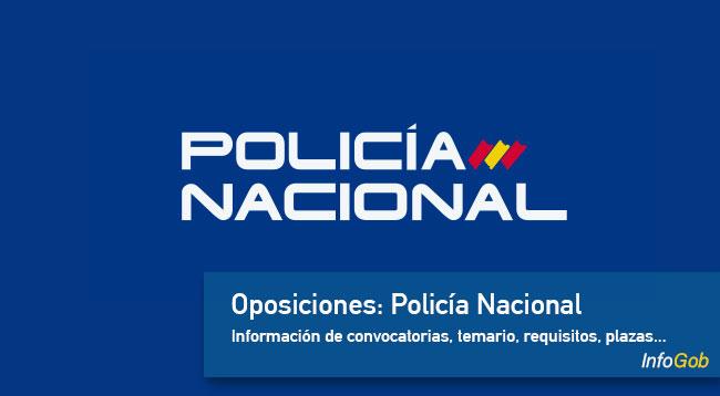 Oposiciones: Policía Nacional