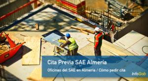 Cita SAE en Almería