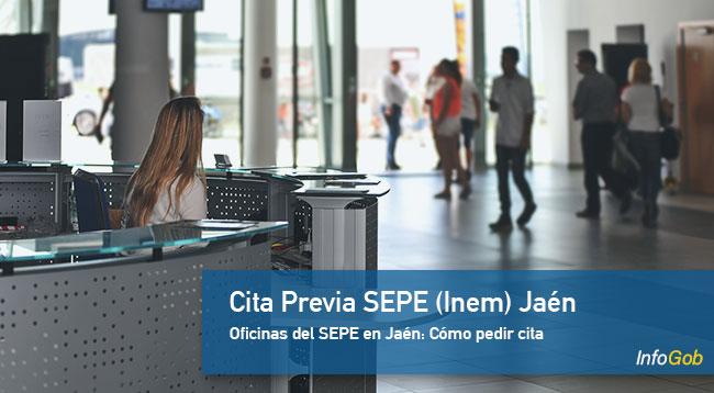Cita SEPE en Jaén