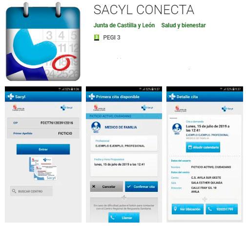Aplicación móvil SACYL