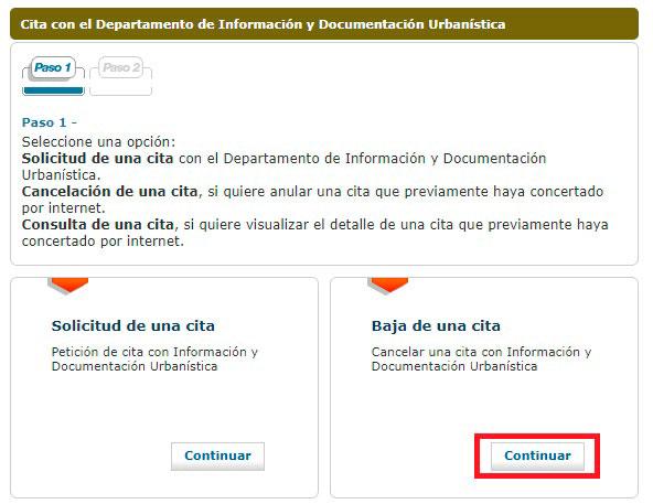 Anula tu cita con el Ayuntamiento de Barcelona