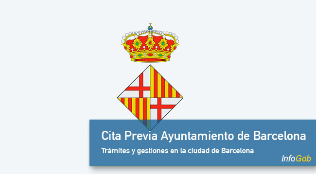 Cita Previa Ayuntamiento de Barcelona