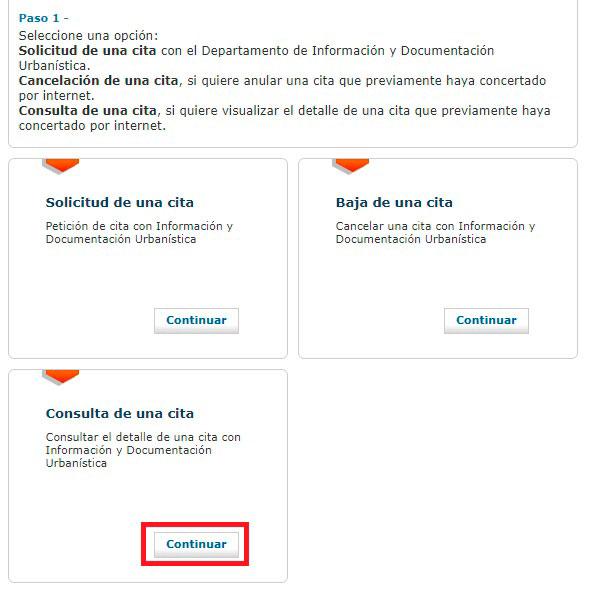 Consulta tu cita con el Ayuntamiento de Barcelona