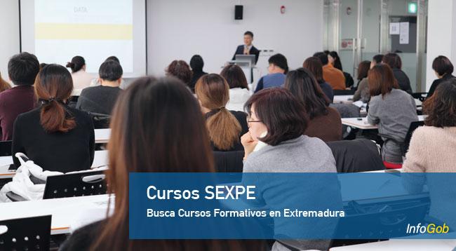 Cursos de formación del SEXPE