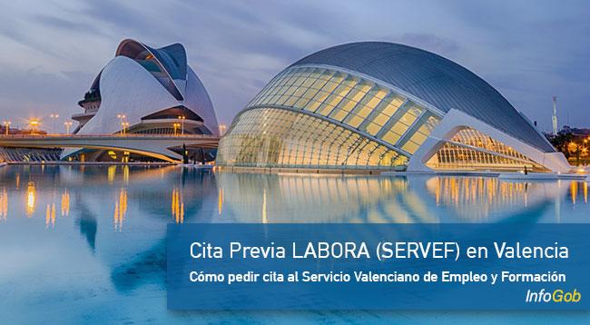 Cita previa LABORA en Valencia