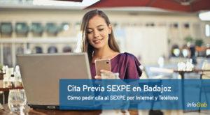 Cita previa SEXPE en Badajoz