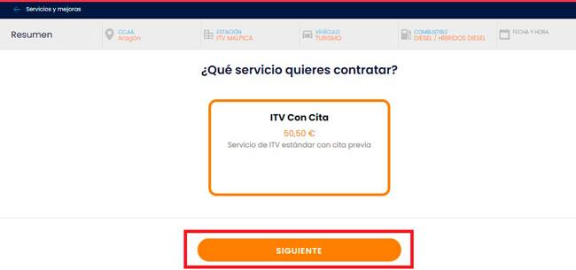 Precio para la inspección ITV y vehículo en Itevelesa