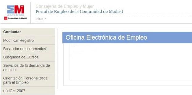 Portal de Empleo en Madrid
