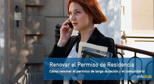 Renovar el permiso de residencia