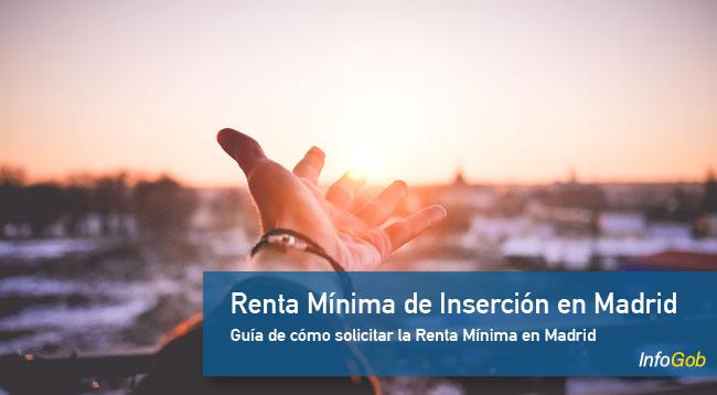 Renta Mínima de Inserción en Madrid