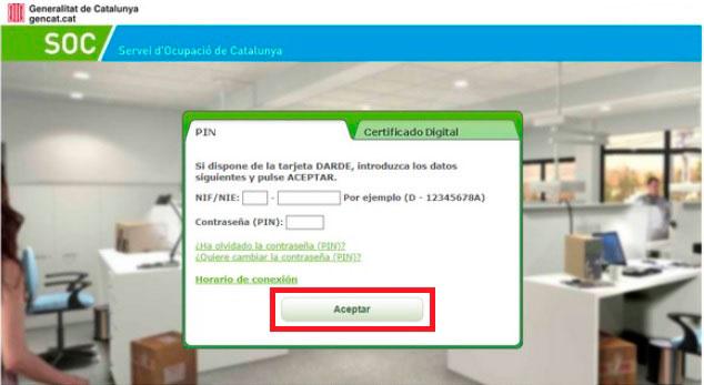 Acceso a la Oficina Virtual del SOC