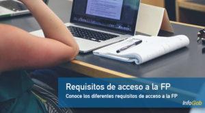 Requisitos de acceso a la FP