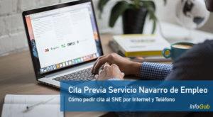Cita Previa con el Servicio Navarro de Empleo