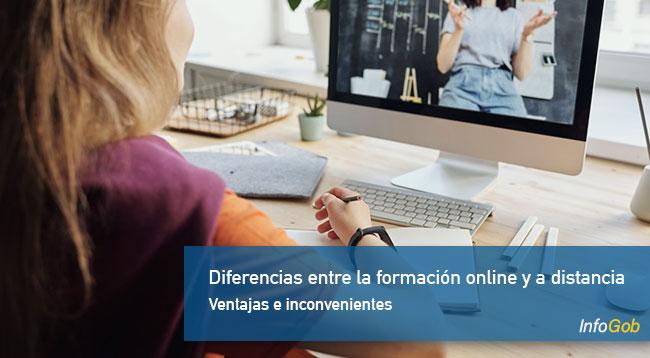 Diferencias entre la formación online y a distancia