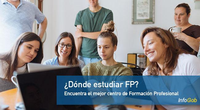 Dónde estudiar FP (Formación Profesional)