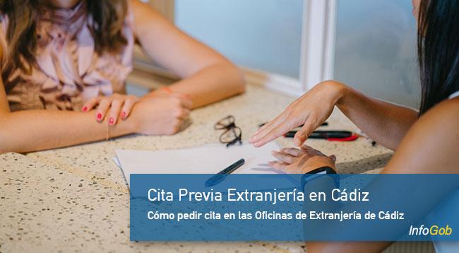 Oficina de Extranjería en Cádiz