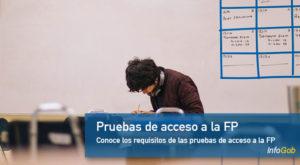 Pruebas de acceso a la FP