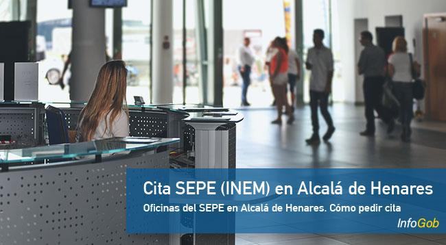 Cita Previa en oficinas del SEPE en Alcalá de Henares