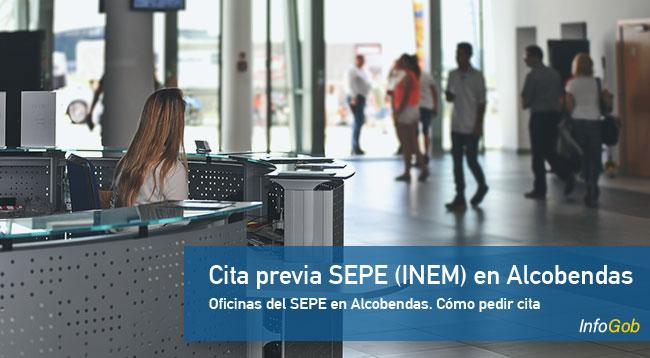 Cita Previa en oficinas del SEPE en Alcobendas