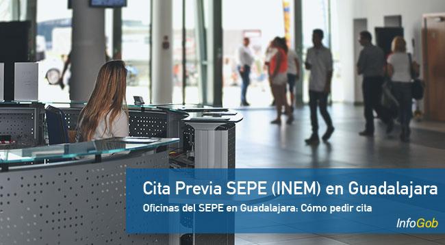 Cita Previa oficinas del SEPE en Guadalajara