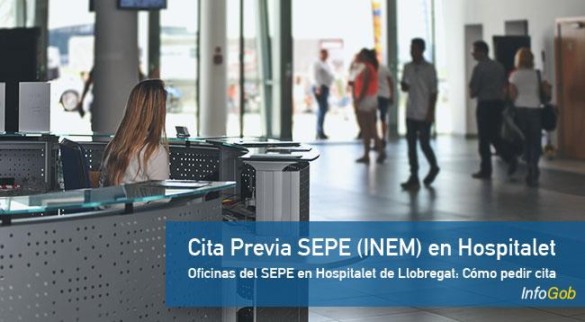 Cita Previa en oficinas del SEPE Hospitalet de Llobregat