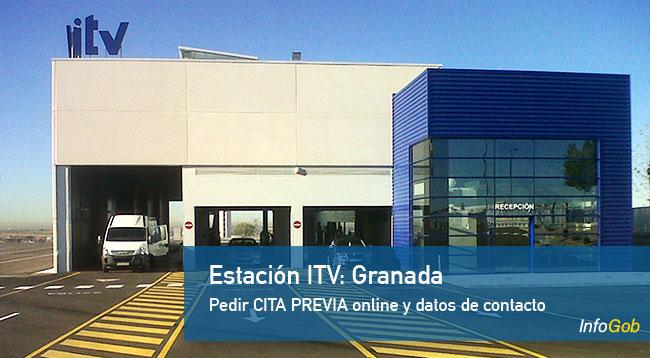 Cita previa con la ITV de Granada