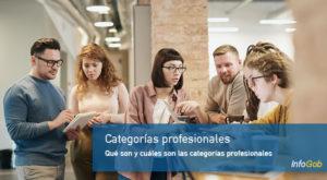 Categorías profesionales
