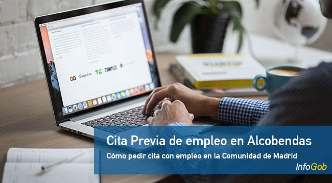 Cita previa con las oficinas de empleo en Alcobendas
