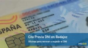 Cita previa para el DNI en Badajoz