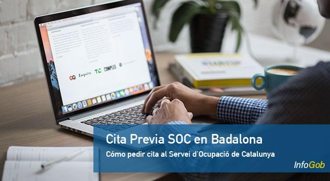 Pedir cita en las oficinas del SOC en Badalona