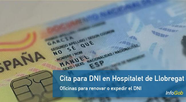 Cita previa para el DNI en Hospitalet de Llobregat