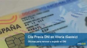 Cita Previa comisarías DNI en Vitoria